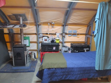 Med Tent Set Up Bedside