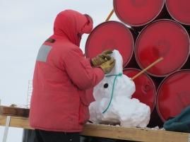 Making of Traverse Snowman 2