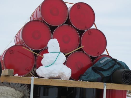 Making of Traverse Snowman